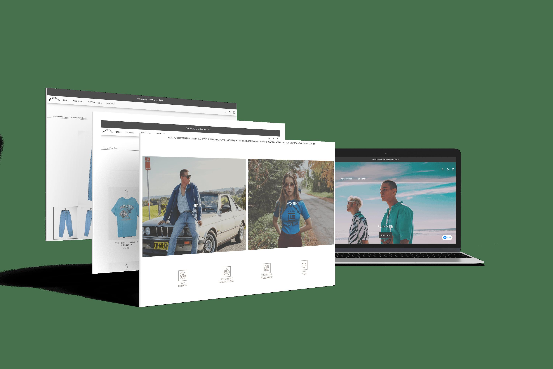 Mr Vintage Shopify website