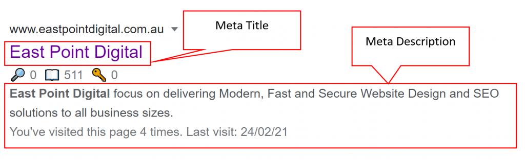 On-Page SEO Meta Description